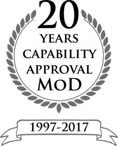 20 years capability approval MoD