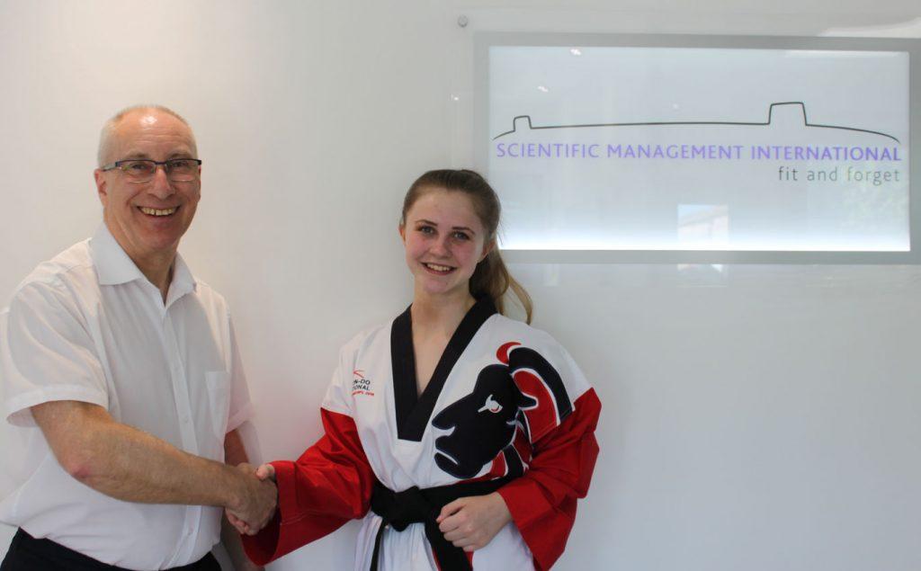 Kali Davis, a student who SMI sponsors