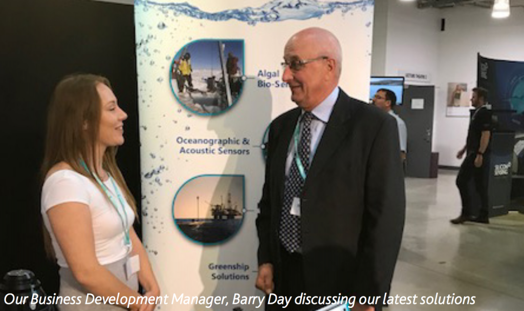SMI's business development manager, Barry Day discussing out latest solutions
