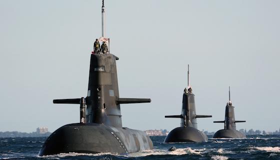 Collins Submarine Australia