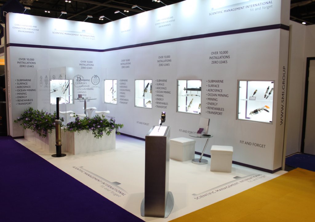 SMI exhibition stand