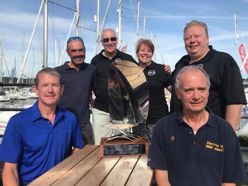 The SMI team winning the Reginald Fessenden Challenge