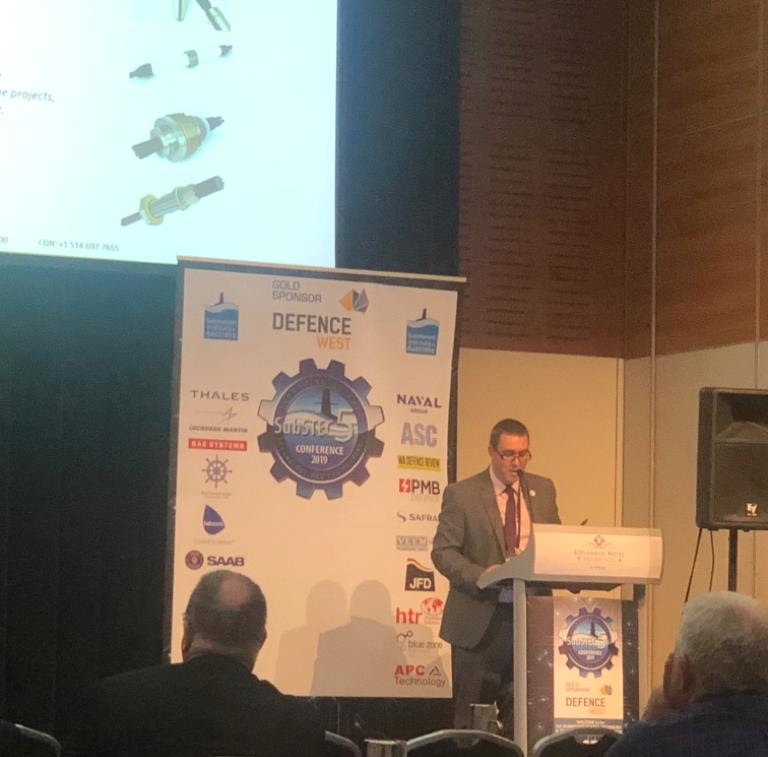 Glen from SMI Presenting at Subtech 5
