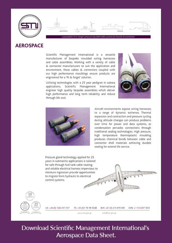 Download SMI's Aerospace Data Sheet