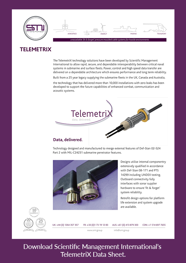 Download SMI's TelemetriX data sheet