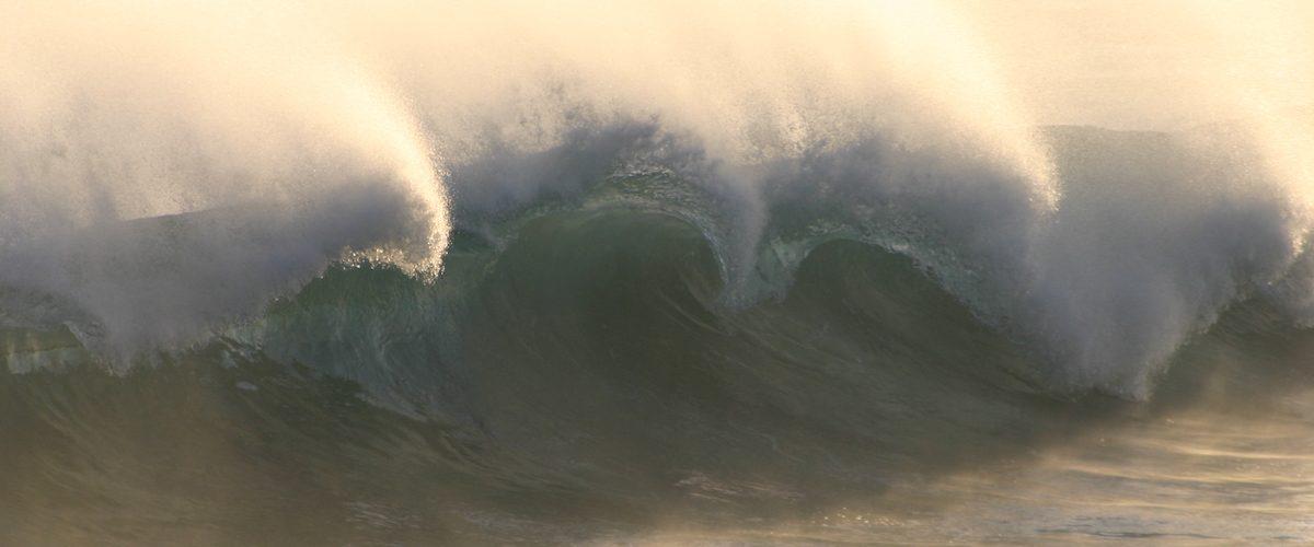 Cresting waves