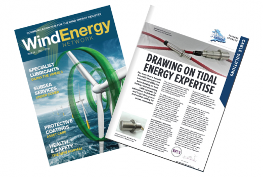 WEN article in the WindEnergy Mag Front Cover