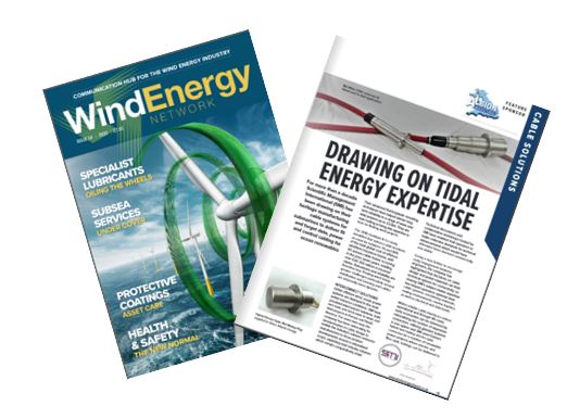 WEN and WindEnergy Mag Front Cover featuring SMI