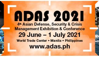 ADAS 2021 event logo - Manila, Philippines