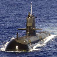 HMAS Rankin Australian submarine