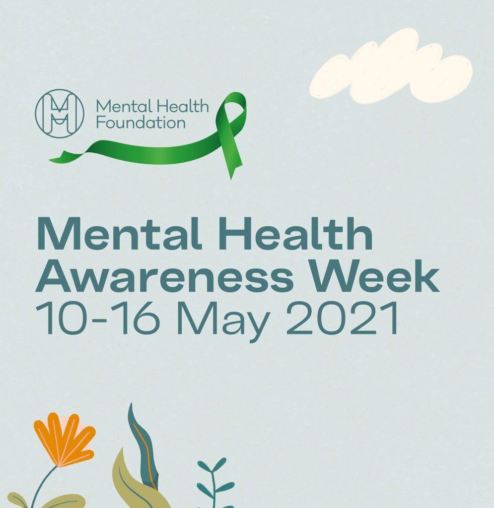 Mental Health Awareness Week 2021 poster