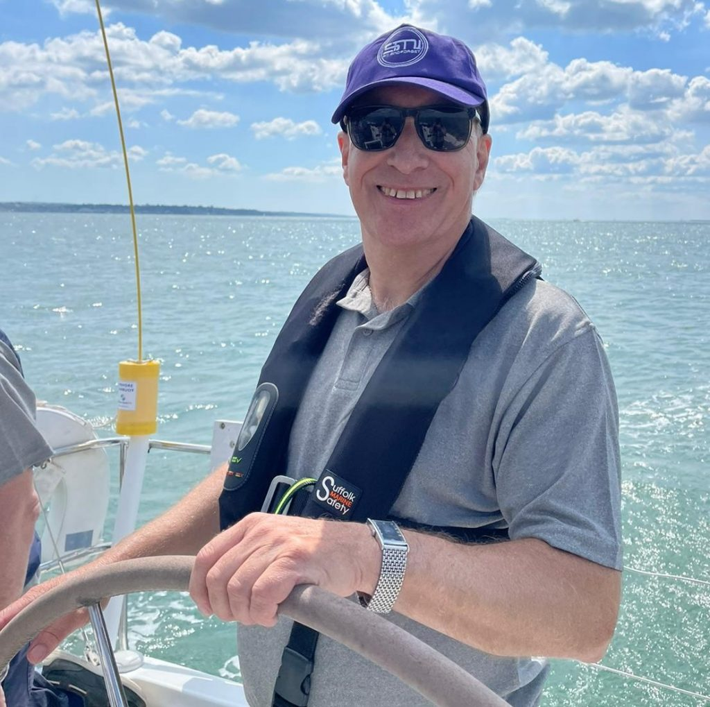 SMI yacht raising at the Reginald Fessenden Challenge 2021