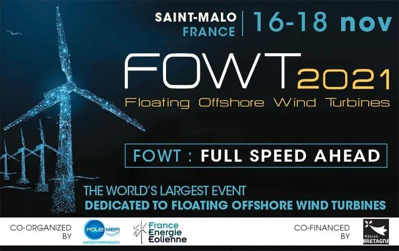 FOWT 2021 event logo