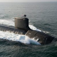 USS North Dakota Virginia class US submarine